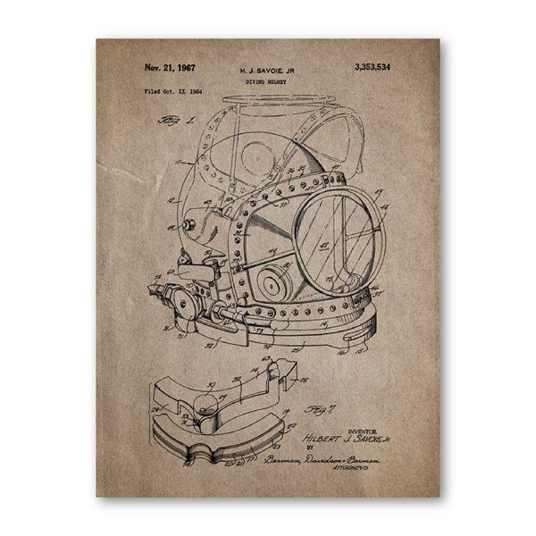 Quadro patente mergulho