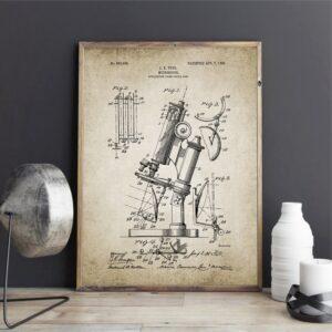 Quadro patente ciência