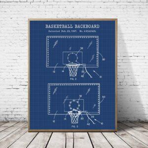 Quadro patente basquete