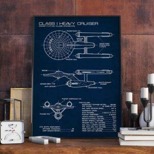 Quadro patente nave espacial