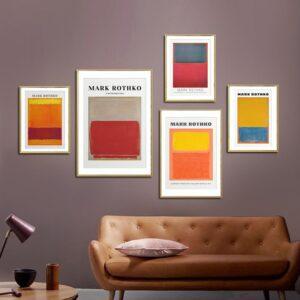 Quadro decorativo Mark Rothko 1